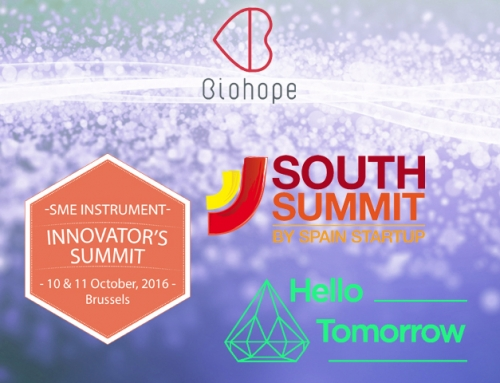 Biohope has been a finalist in several events worldwide for innovative startups in October