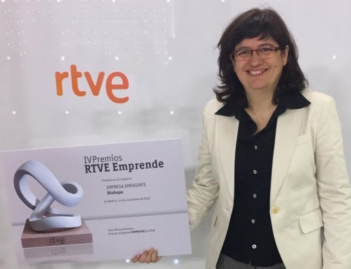 "Biohope receives the ""Emprende"" award from RTVE"