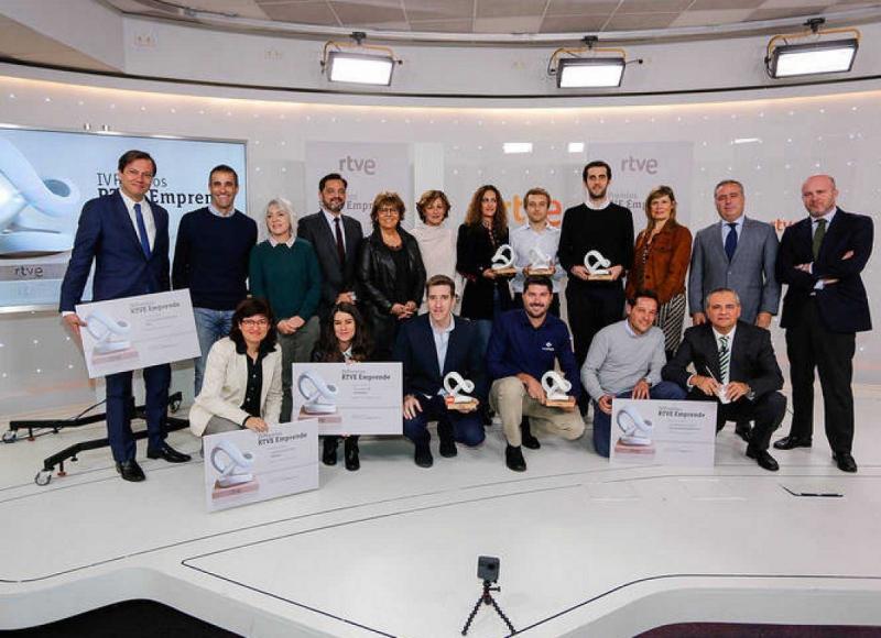 Biohope recoge el diploma de finalista de Premios Emprende